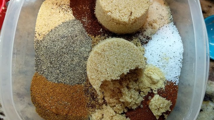 Pulled Pork Rub Spices