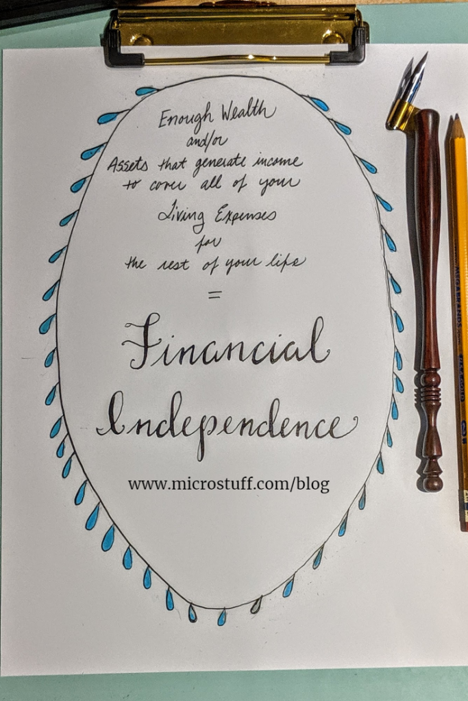 Microstuff Financial Independence