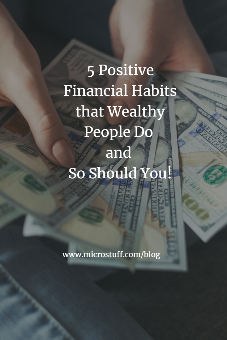 5 positive financial habits