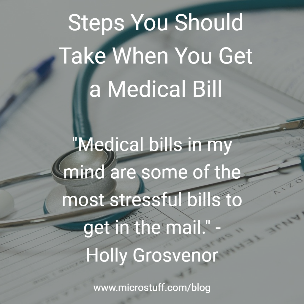 Steps You Should Take When You Get a Medical Bill